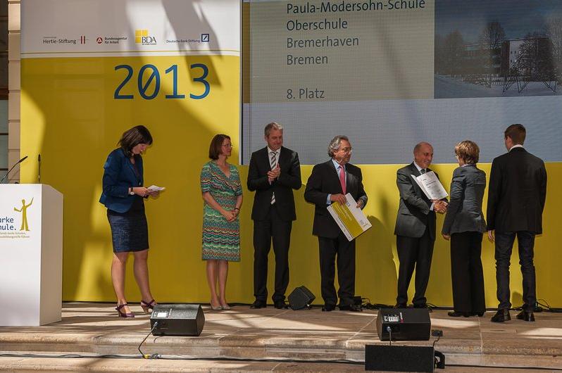 8. Platz im Bundeswettbewerb (Preisverleihung im Jüdischen Museum in Berlin)